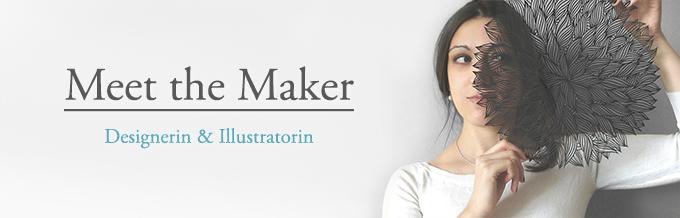 Portrait: Sameena Jehanzeb, Designerin und Illustratorin