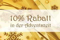 Rabatt-Aktion Weihnachten 2011