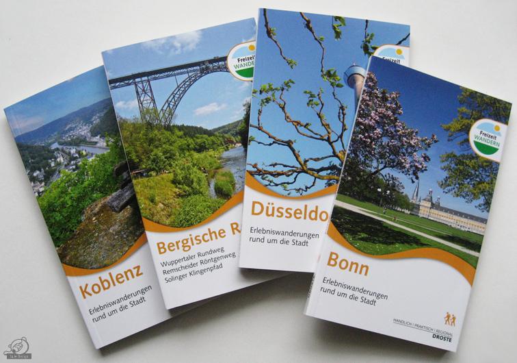 Die neuen Wanderführer im Droste Verlag