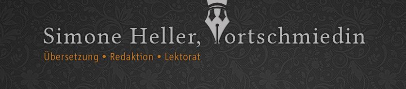 Logo: Simone Heller, Wortschmiedin