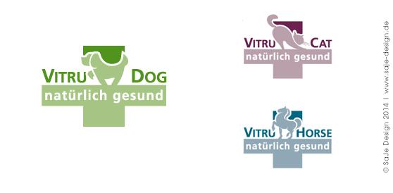 Logo Design: VitruDog - natürlich gesund