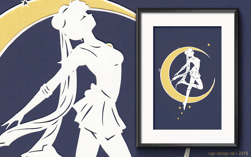 Papercut: Sailor Moon