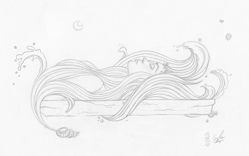 Scribble: The Lady of the Sea