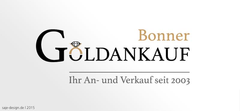 Redesign: Logo für Bonner Goldankauf