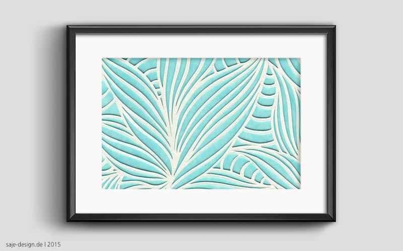 Papercut: Blue Lagoon