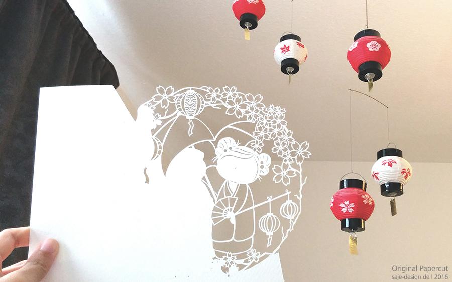 Work in Progress: Kokeshi Hanami Design