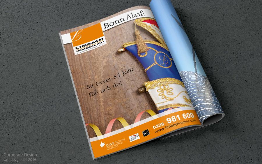 corporate design print saje design bonn. Black Bedroom Furniture Sets. Home Design Ideas