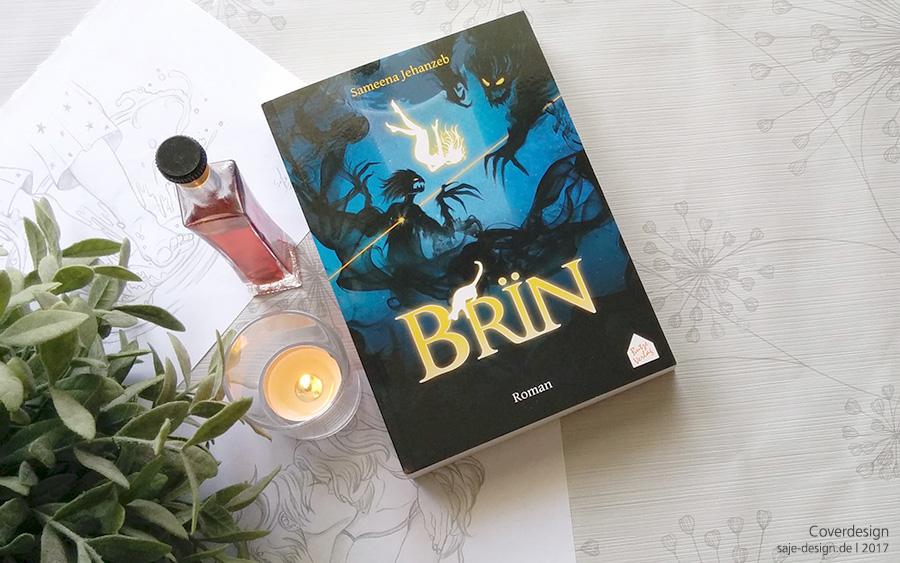 Buchcover Design: BRÏN von Sameena Jehanzeb - Butze Verlag